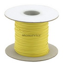Monoprice 1412 Wire Cable Tie 290M/Reel - Yellow