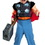 Disguise 11767S Thor Toddler Muscle 2T