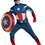 Disguise 43696D Captain America Avengers Theat