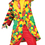 Funny Fashions 760735 Bubbles Clown Adult Small