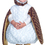 Underwraps 26077TLG White Barn Owl Toddler 2T-4T