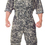 Underwraps 29390XXL Us Army Jumpsuit Xxl