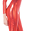 Underwraps 29456RDLG Stretch Jumpsuit Red Large