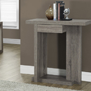 Monarch Specialties I 2459 Dark Taupe Reclaimed-Look 32