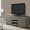 "Monarch Specialties I 2587 Dark Taupe Reclaimed-Look 60""L TV Console With 8 Drawers"