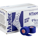 Mueller MTape Royal Blue, 2 Pack (2 rolls shrink wrapped), 1.5