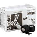 Mueller Tape, Black, 2 Pack (2 rolls shrink wrapped), 1.5