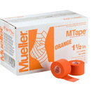 Mueller MTape Orange, 2 Pack (2 rolls shrink wrapped), 1.5