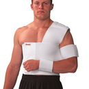 Mueller 315LG Shoulder Brace, Right, White - Lg
