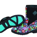Muck Boot Breezy Mid Print Black/Floral