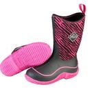 Muck Boot Kids Hale Pink Zebra