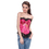 Muka Victorian Tapestry Brocade Fashion Corset Top, Halloween Costume