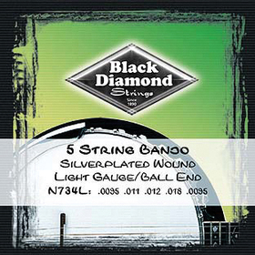 BlackDiamond N734L Ball End Bjo St Blk Diamnd