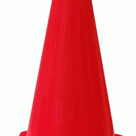 "Norbert's Athletic 12"" High Cones Dozen, Price/dz."