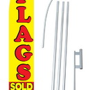 NEOPlex SW10012-SGS-4DL Flags Sold Here Windless Swooper Flag Kit