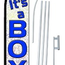 NEOPlex SW10157-SGS-4PL It's A Boy Swooper Flag Kit