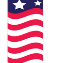 NEOPlex SW10729 USA Stars & Stripes 6' Swooper Flag