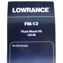 Lowrance 000-0124-65 Lowrance Flushmount Kit For HDS Displays - FM-12