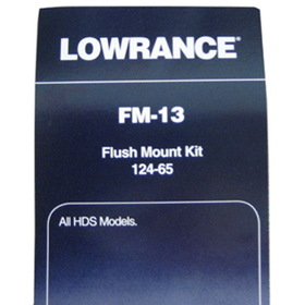 Lowrance 000-0124-65 Flush mount Kit