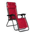 Camco 0142-2032 Camco Zero Gravity Recliner - Red Swirl