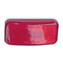 Fastenersun 1304-1193 Command Electronics Rounded Corner LED Clearance Light - Red with White Base