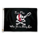 Taylor N A 1804 Taylor Made 'Time Flies When You're Having Rum' Novelty Flag