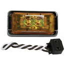 Anderson Marine V153KA Anderson Marine 153 Piranha LED Side Marker/Clearance Light - Amber