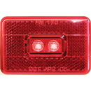 Anderson Marine V170R Anderson Marine 170 Piranha LED Clearance/Side Marker Light with Reflex - Red