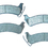 Omix-Ada  Disc Brake Pad Set Rear Kj 03-07