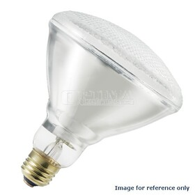 Platinum 120W/130V Incandescent BR40 Reflector Lamp Inside Frost Finish Medium Aluminum Base Flood Beam