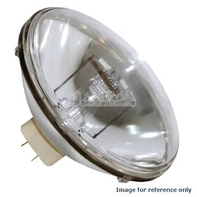 Platinum 1000W/120V Incandescent PAR64 Reflector Lamp External Mogul End Prong Base Very Narrow Spot Beam (FFN)