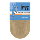 L'eggs 03925 Seamless Nylon Foot Cover, 2-Pack