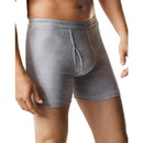 Hanes 2349B7 Men's Boxer Brief with Comfort Flex Waistband Black/Grey Assorted 7-Pack