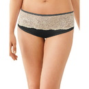 Bali One Smooth U Comfort Indulgence Satin with Lace Hipster , 2783