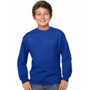 Hanes 5546 Youth TAGLESS Long-Sleeve T-Shirt