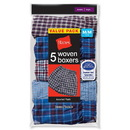 Hanes B841W5 Boys Red Label Tartan Boxer, 5-Pack