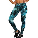 Champion Women's Absolute Printed Tights With SmoothTec Band, M0130P