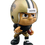 "SAINTS Lil Teammates - Licensed collectible 2 ¾"" tall Vinyl Runningbacks Sports Figures with turnable head"