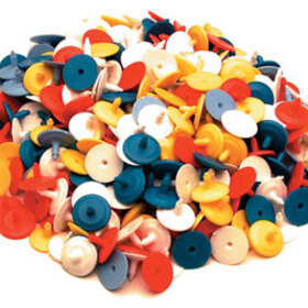 PAS Ball Markers - 500 Assorted Bulk