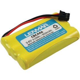 LENMAR CBC446 Uniden Replacement Battery