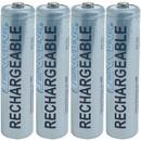 LENMAR PRO410B 1,000mAh AAA NiMH Batteries, 4 pk