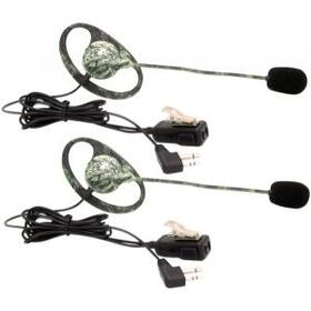 MIDLAND AVPH7 Outfitters Camo GMRS Headset with Microphone & PTT, 2 pk