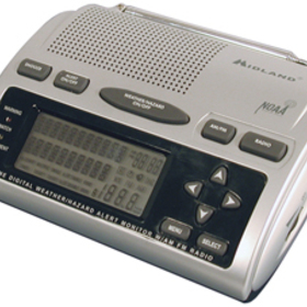 MIDLAND WR-300 Deluxe SAME Weather-Alert/All-Hazard Radio with AM/FM Radio