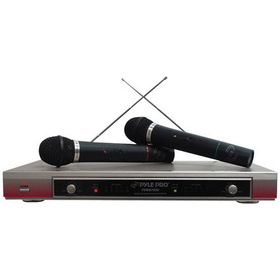 PYLE PRO PDWM2000 Dual VHF Wireless Microphone System