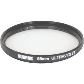 SUNPAK DF-7034-UV Coated UV Filter (58mm)