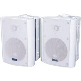 TIC CORPORATION AS P60W Indoor/Outdoor 75-Watt Speakers with 70-Volt Switching (White)