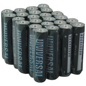 UPG D5341 Alkaline Batteries (AAA; 24 pk), Price/each