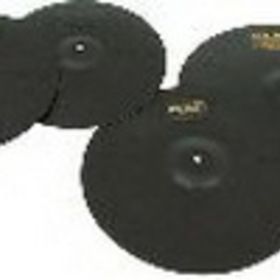 Pintech XT4P 4 piece set practice cymbal 14in. hi-hat pair, 16in. & 18in