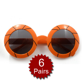 Basketball Sunglasses, Party Glasses, Price/6 Pairs