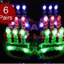 Assorted Colors Happy Birthday Light UP LED Glasses, Party Glasses, Christmas Gift 2012